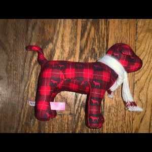 VS PINK Plaid sweater dog excellent condition